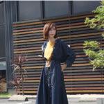マカフィー(トゥモローランド)秋物のデニムロングシャツ。着回し力抜群のオススメ品