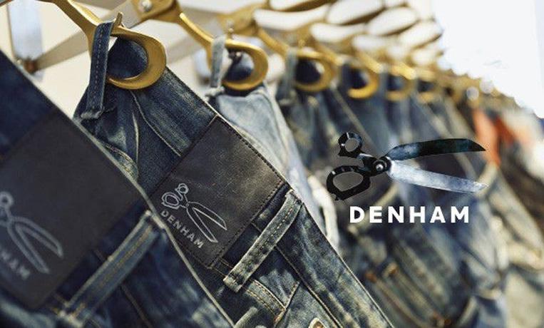 DENHAM(デンハム)のブランドロゴ