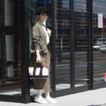 【大人女子必見!】トレンドのチェック柄スカートを今年らしく着こなすには?