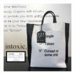 【FUDGE】掲載で大注目!取り扱い店舗の少ないレアバック『intoxic/イントキシック』
