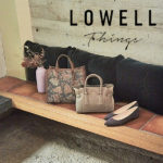 【毎日使いたい大人オシャレバッグ】LOWELL Things / ロウェル シングス
